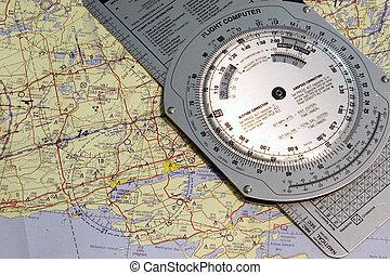 Aviation Trenton - Aviation navigational chart of Trenton...