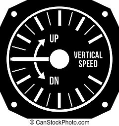 Aviation variometer icon