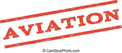 Aviation Watermark Stamp