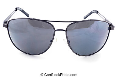 aviator sunglasses isolated on a white background