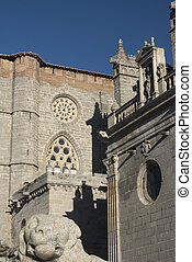 Avila (Castilla y Leon, Spain): cathedral