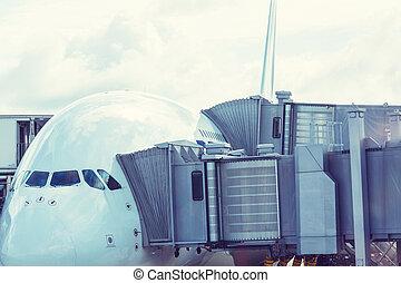 avion, aéroport