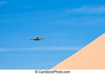 avion, approche, atterrissage