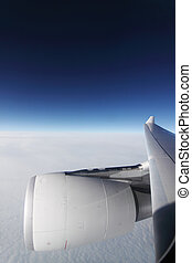 avion, ciel