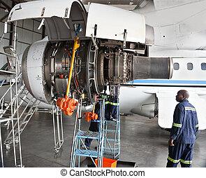 avion, entretien
