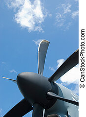avion, hélice