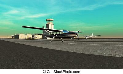 avion hélice