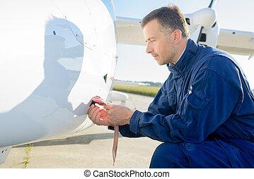avion, ingénieur entretien