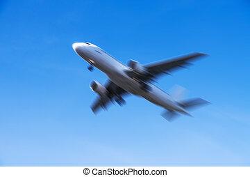 avion, jeûne