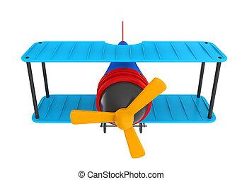 avion, jouet, isolé