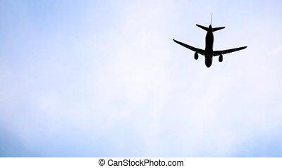 avion, sochi, fermé, prendre, adler