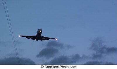 avion, venir