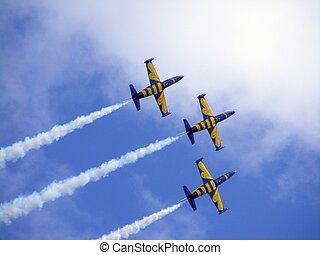 avions, trois, air