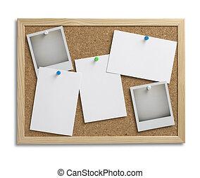 avis, espace, coupure, bouchon, 1, planche, sentier, copie, bulletin