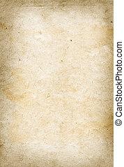 avis, gamle, pergament, tekstur