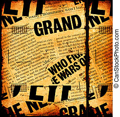 avis, nyhed, tekst