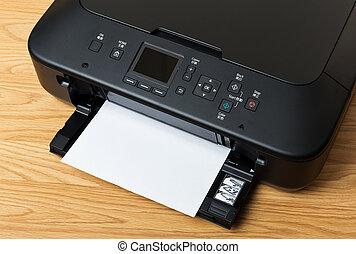 avis, printer, hjemmemarked