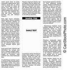 avis, vektor