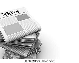 aviser, baggrund