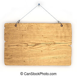 aviso, madeira, antigas, tábua