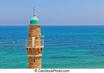 aviv , τζαμί , al-bahr, tel