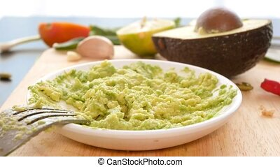 avocado. concept of healthy eating and healthy lifestyle....