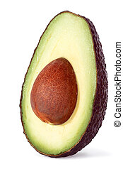avocado, helft