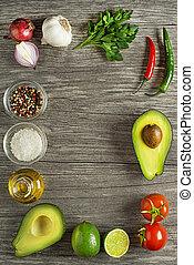 Avocado ingredients
