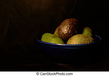 Avocado Still Life