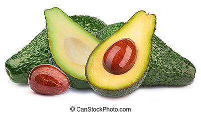 avocado's, vijf, vrijstaand