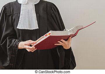 avocat, lecture