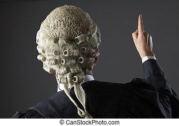 avocat, tribunal, parole, confection