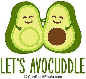 avocuddle, abacate, deixe-nos
