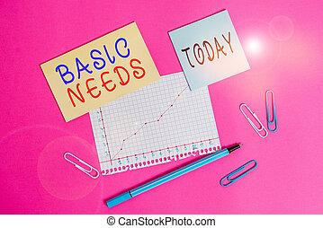 avoir, business, papier, fondamental, vie, écriture, vivant...
