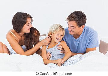 avoir, ensemble, amusement famille