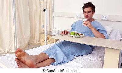 avoir, lit, séance, patient, sien, déjeuner