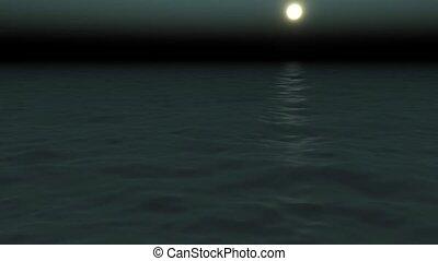 avond, zee