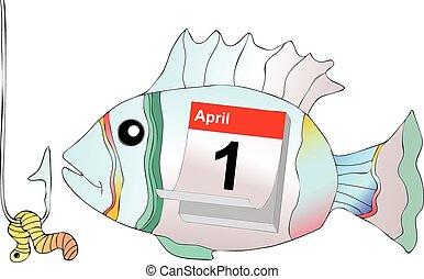 avril, appât, crochet, pas, fish, prendre, 1