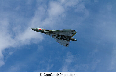 Avro Vulcan bomber used by the British RAF