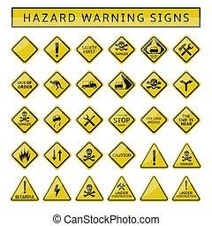 avvertimento firma, azzardo