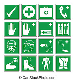 avvertimento, salute, sicurezza, azzardo, &