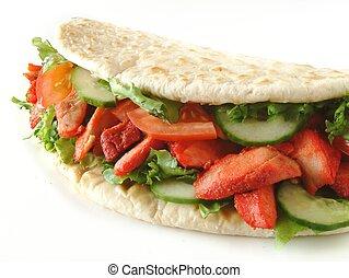 avvolgere, kebab