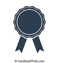 Award Icon on white background.