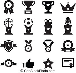 Award Icon set for your design