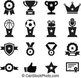Award Icon set for your design