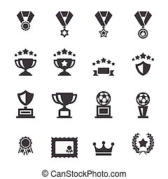 award icon set