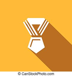 Award icon. Vector Illustration.