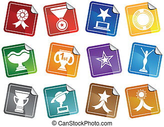 Award Icons Sticker