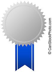 Award medal with ribbon