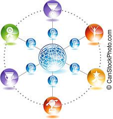 Award Network - network image of awards.